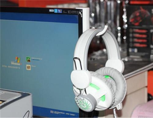 Display Headset Hook Portable Computer Headphones Stand Holder Headset Desk Display Hanger Gaming