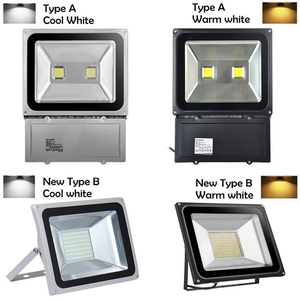 Picture of Eu/us/uk/au Stock 100w Cool White/warm White Led Floodlight Garden Security Lamp Waterproof
