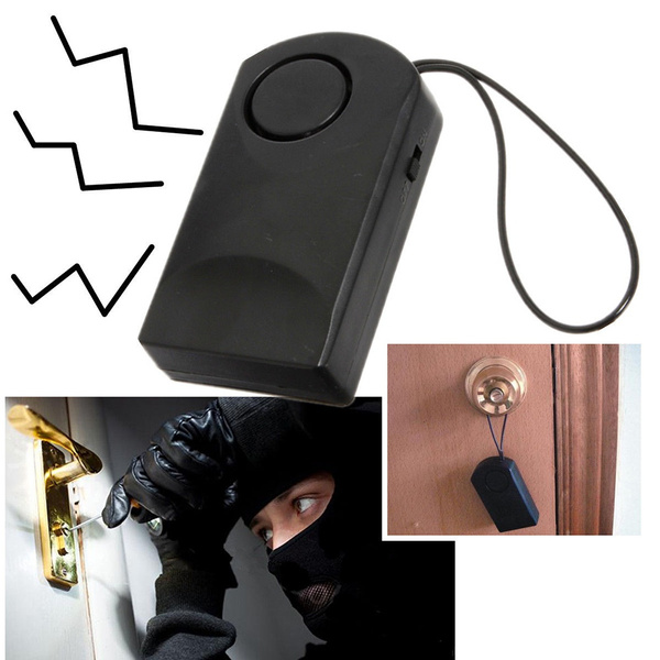 Picture of 120 Wireless Touch Sensor Security Alarm Loud Door Knob Entry Alert Anti Theft Nice-shop