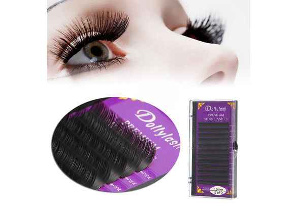 Blink Mink Tray Lash 0.07mm B C D Curl For Individual Eyelash Extensions