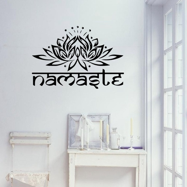 namaste, Flowers, Home Decor, Home & Living