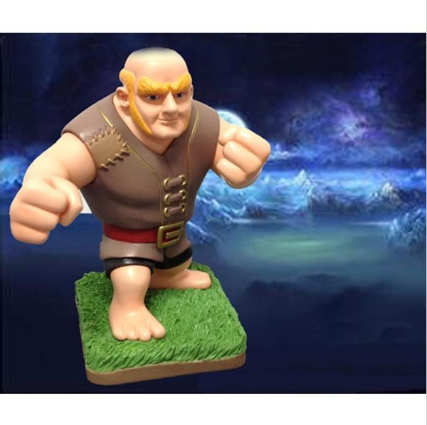 Anime Clash of Clans Action Figure Giant Figures Toy