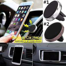 Universal Magnetic Car Mobile Phone Holder Air Vent Mount Stand For all phone