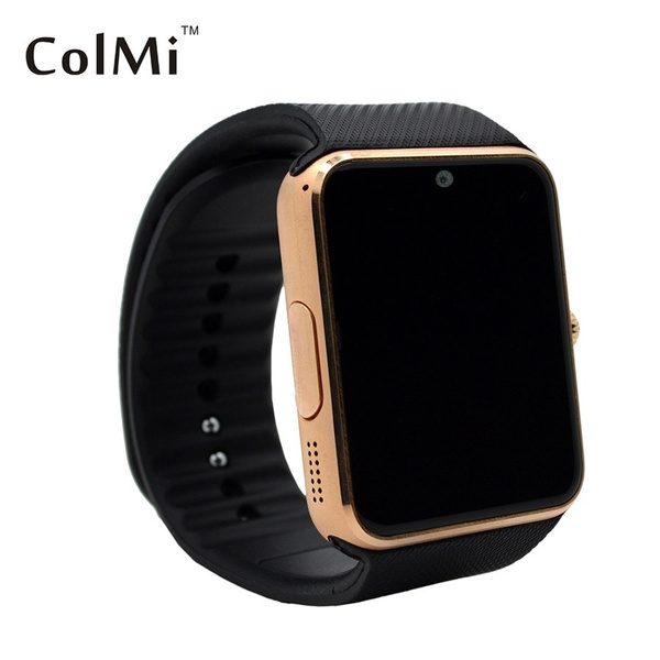 ColMi Smart Watch GT08 Support Sim Card Clock Sync Notifier Bluetooth for  Apple iphone 6/6plus/5/5s Samsung all android phones