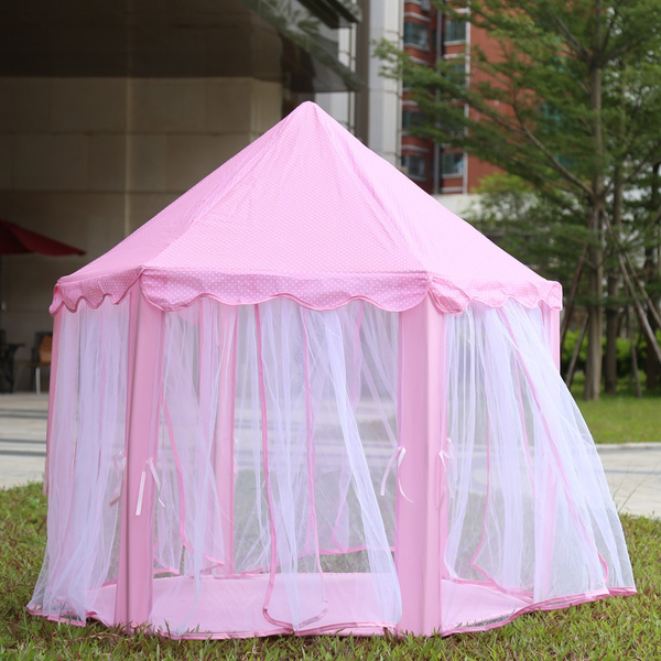 Wish | Portable Princess Castle Play Tent Activity Fairy House Fun Indoor Outdoor Playhouse Toy & Wish | Portable Princess Castle Play Tent Activity Fairy House Fun ...
