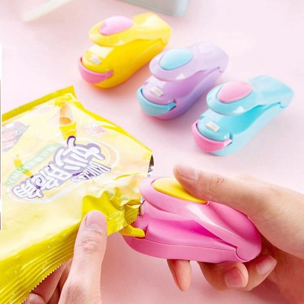 Mini Sealing Machine Portable Heat Plastic Bag Impluse Sealer Handheld Tool New