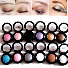 Professional Soft Light Shine Eye Shadow Makeup Brush Set Long Lasting Single Metallic Eyeshadow Pallete Pigment Shadow Powder