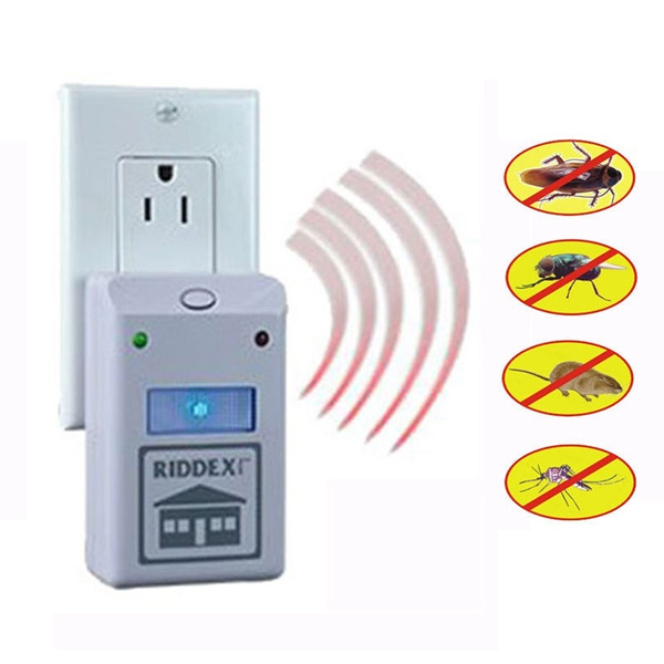 Electro Magnetic Ultrasonic Riddex Electronic Pest Control Rodent Repeller  For Mouse Anti Mosquito Insect EU Plug