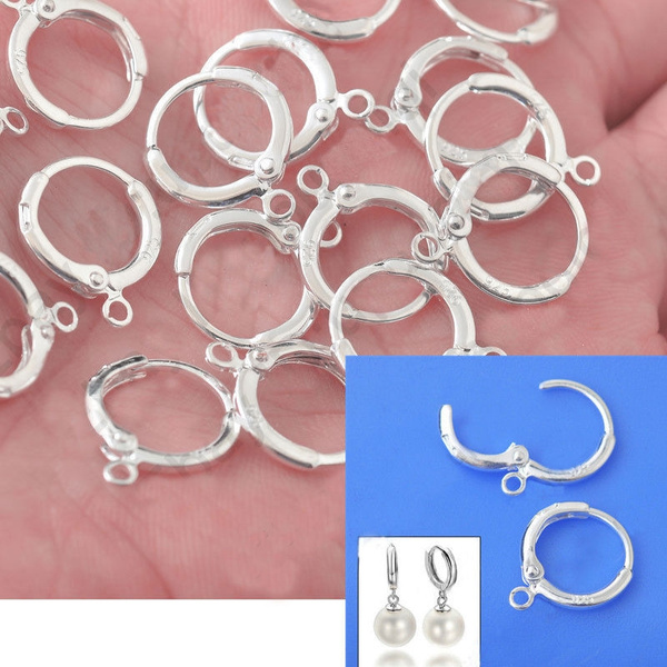 Sterling, 925 sterling silver, Jewelry, earwire