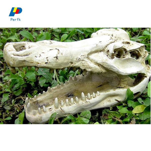 1x Reptile Vivarium Decoration Terrarium Diy Landscaping Ornament Crocodile