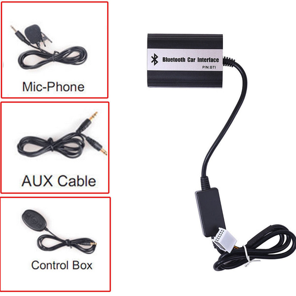 RD4 Peugeot Citroen Bluetooth A2DP Car USB MP3 Aux Interface In Adapter