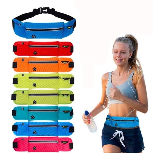 Anti-theft Slim Running Cell Phone Chest Waist Fanny Bag Sports Running Bag