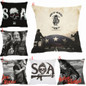 Picture of 18 Inches Home Decor Sons Of Anarchy Pillow Case Linen Cotton Cover Square Pillow Case