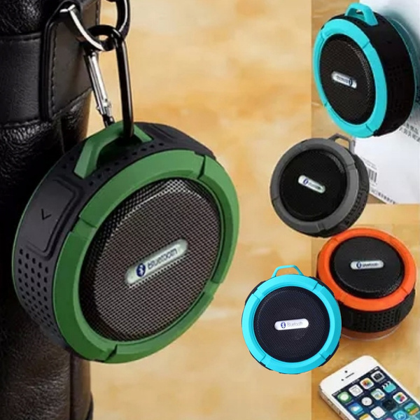 Picture of Waterproof Shockproof Dirt Proof Bluetooth Stereo Speaker Suction Cup