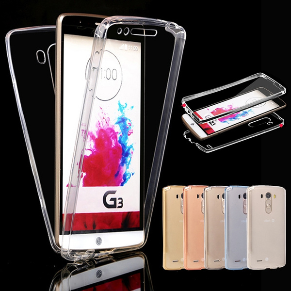 Picture of 100 Brand New Shockproof 360 Tpu Silicone Full Protective Clear Transparent Case Cover For Iphone 4 5 / 5s / 6 / 6s / 6p / 6s Plus /7/7 Plus/samsung Galaxy S6 / S6 Edge / S6 Edge Plus/s7/s7 Edge /Note 3 4/ Note 5/note 7/a3 A5 A7/j3/j5/j7/a3 /A5 /Grand /Core Prime