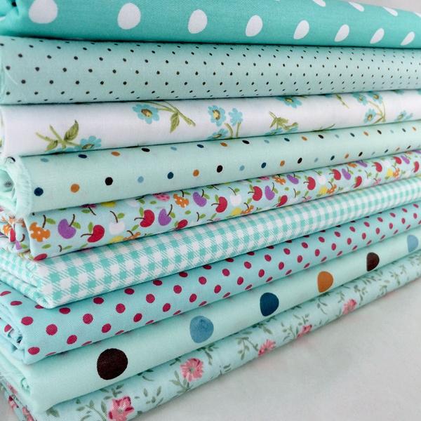 Blues, Home Decor, Fabric, Craft