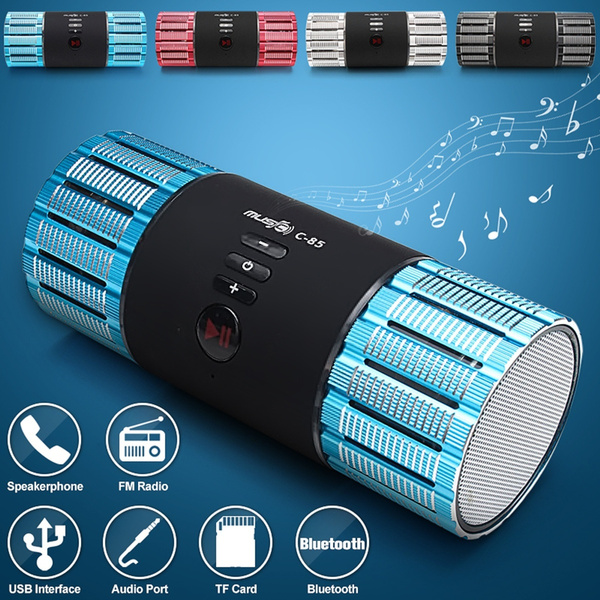 Picture of 3.0 Mini Portable Hifi Stereo Audio Wireless Bluetooth Mini Card Speaker Tf Fm Colorful Led Subwoofer Mp3 Boombox Sound Box For Smart Phone Computer Tv Psp