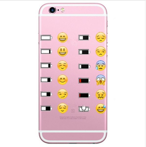 uk availability 5c4d2 57835 New Arrival Emoji Kimoji Cases For Iphone 5 5c 5s 6 6s/Plus Cover Back Bags  Coque Transparent Print Silicon TPU