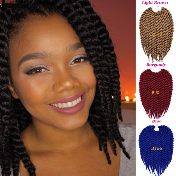 Havana Mambo Twist Crochet Braid Hair 12 Crochet Hair Marley Twist