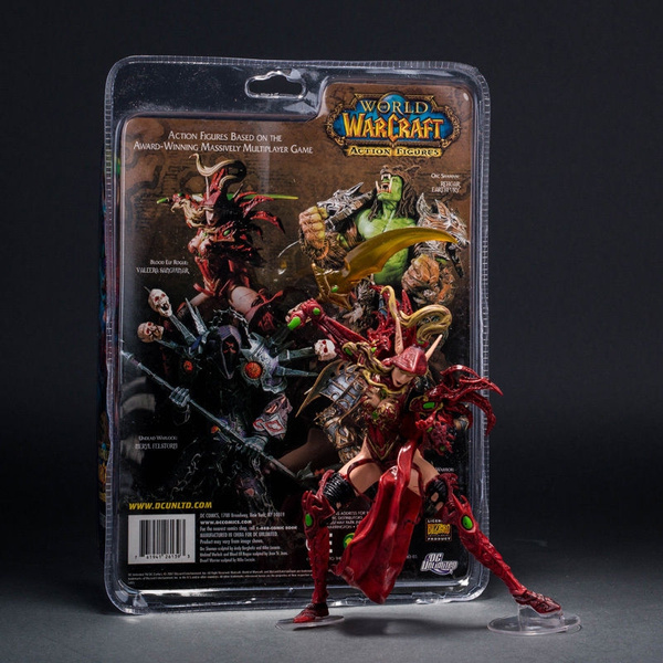 WOW VALEERA SANGUINAR BLOOD ELF ROGUE WORLD OF WARCRAFT COLLECTION ACTION FIGURE