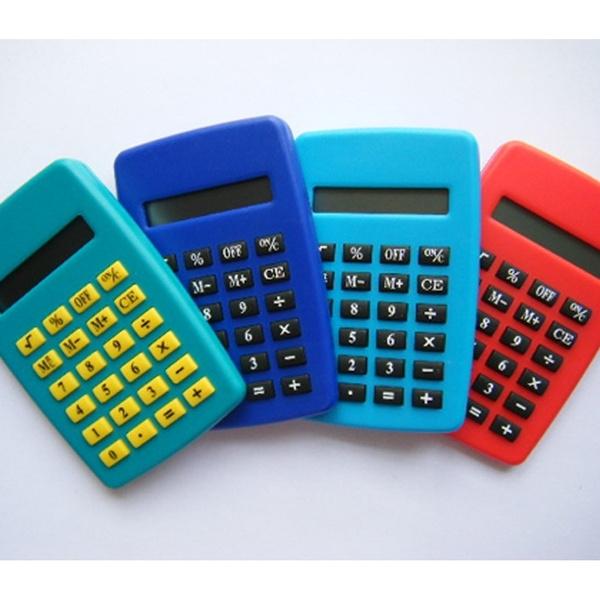 MINI Calculator Student School Office Exam Supplies Birthday Gift   Wish