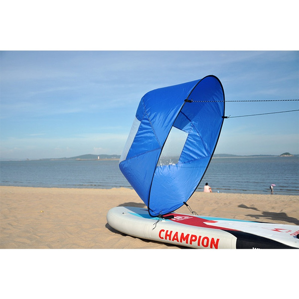 Downwind Paddle Kayak Wind Sail Kit 46 inches Kayak Canoe Accessories