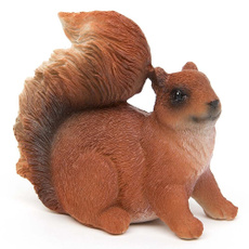 Bonsai, Mini, squirrelfigurine, Toy