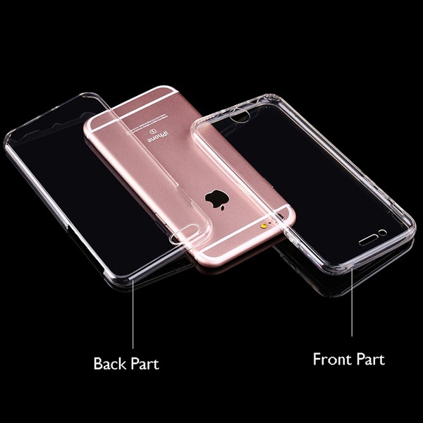 Picture of Best Selling Shockproof 360 Tpu Silicone Full Protection Crystal Clear Case Cover For Iphone 4 5 / 5s / 6 / 6s / 6p / 6s Plus/7/7 Plus/samsung Galaxy S6 / S6 Edge / S6 Edge Plus / S7 / S7 Edge / Note 3 4 5 /Note 7/ J3 J5 J7 A3 / A5 / Grand / Core Prime