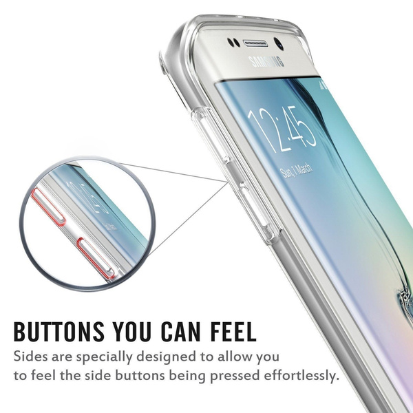 Shockproof 360° TPU Silicone Protection Transparent Clear Case Cover For Iphone 5 / 5S / 6 / 6S / 6P / 6S Plus/7/7 Plus/Samsung Galaxy S6 / S6 Edge / S6 Edge Plus / S7 / S7 Edge / Note 5/Note 7/ A3 / A5  / Grand / Core Prime