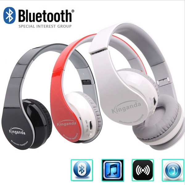 Casque Audio Auriculares Bluetooth 40 Wireless Earpiece Stereo