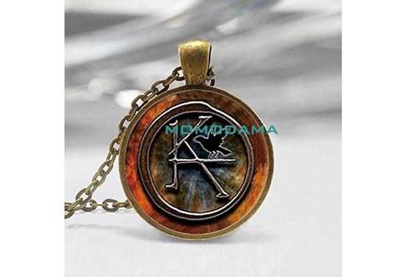Handmade Fashion Jewelry Art The Dark Tower KA Symbol Necklace Pendant Cosplay Charm Gift