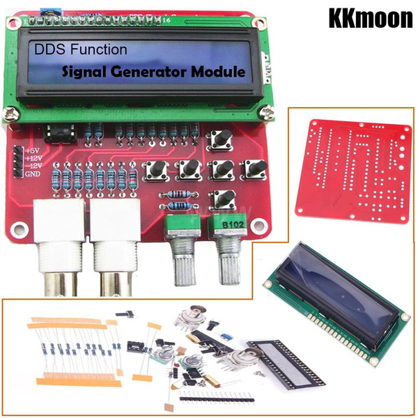 Electronic Components DDS Function Signal Generator Module DIY Kit Sine  Square Sawtooth Triangle Wave Signal Generator DIY Kit R5O9O0C2