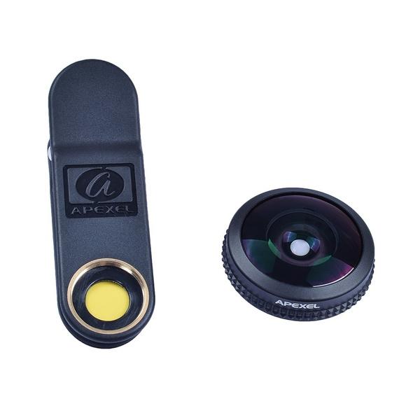 Wish | 10mm 210 Degree Super Fisheye Lens Kit 0.2X Full Frame Super ...