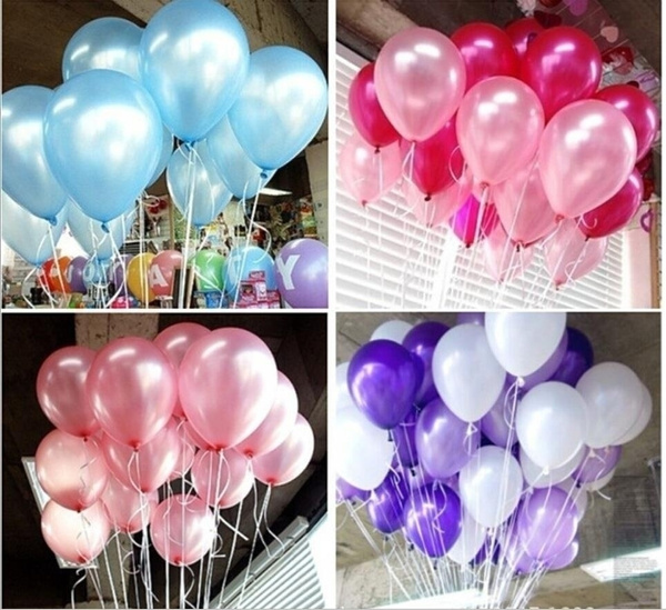 Picture of 20pcs 10'' 1.8g Round Latex Thicken Pearl Festival Party Balloon Wedding Holiday Decorate Balloon 12 2.8g Polka Dot Balloonsmulticolour
