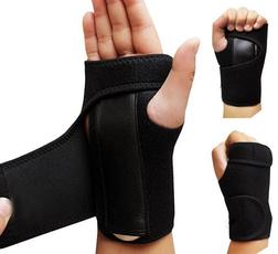 NEW 1Pcs Wrist Support Hand Brace Band Carpal Tunnel Splint Arthritis Sprains Useful (Left 1# , Right 2#) Super Hero GA
