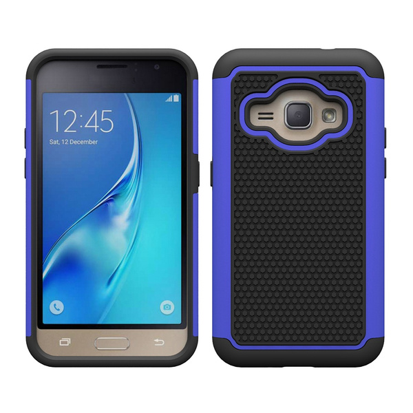 huge selection of 4a55b 5efbe J1 2016 Case, Galaxy Amp 2 Case, Galaxy Express 3 Case, [Shock Absorption]  Hybrid Dual Layer Armor Defender Protective Case Cover for Samsung Galaxy  ...