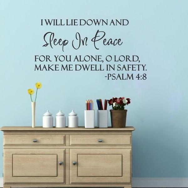 sleepingbeautywallsticker, Decor, Home Decor, biblewallsticker