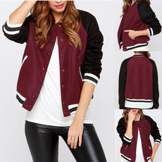 Jacket, Fashion, Long Sleeve, bassballcoat