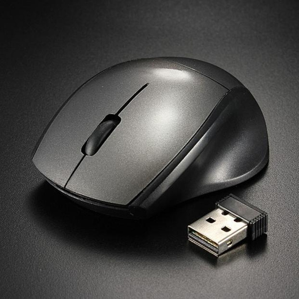 Picture of New Factory Prcie 2.4ghz Mice Optical Mouse Cordless Usb Receiver Pc Computer Wireless For Laptop Luxury Modern