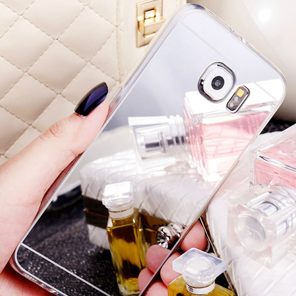 Luxury Ultra Mirror TPU Electroplating Phone Case for iPhone 4 4S 5S 6 6S 6Plus 7 7 Plus/Samsung Galaxy S3 S4 S5 S6 S6 Edge S7 S7Edge/Note 3 4 5 7
