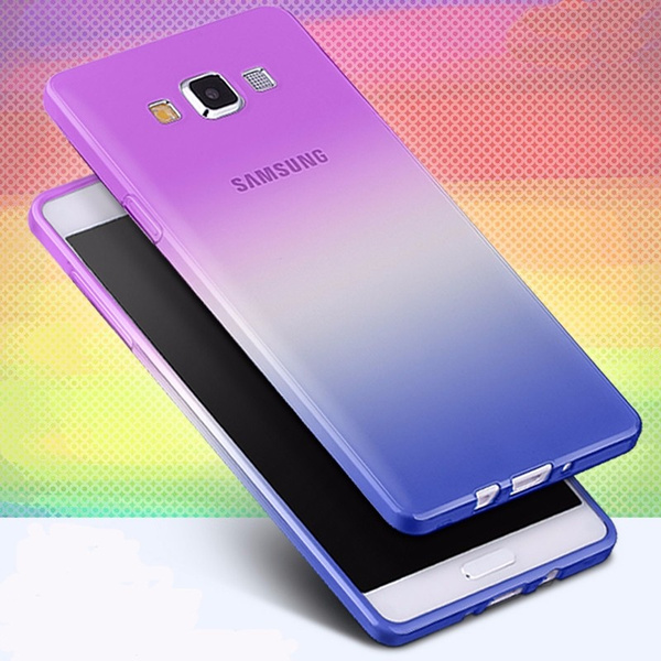 Picture of Soft Tpu Gradient Color Case For Iphone 4 5 6 6s 6plus 7 7plus /Samsung Galaxy S3 S4 S5 S6 S6 Edge S7 S7 Edge /Note 3 4 5 7 /J5 J7 J510 J710 /A3 A5 A7 G530/huawei/sony/htc