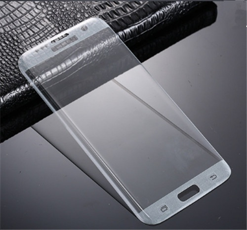 9H Tempered Glass Film Full Coverage 2.5D Arc Screen Protector for Samsung Galaxy S7/S6 Edge