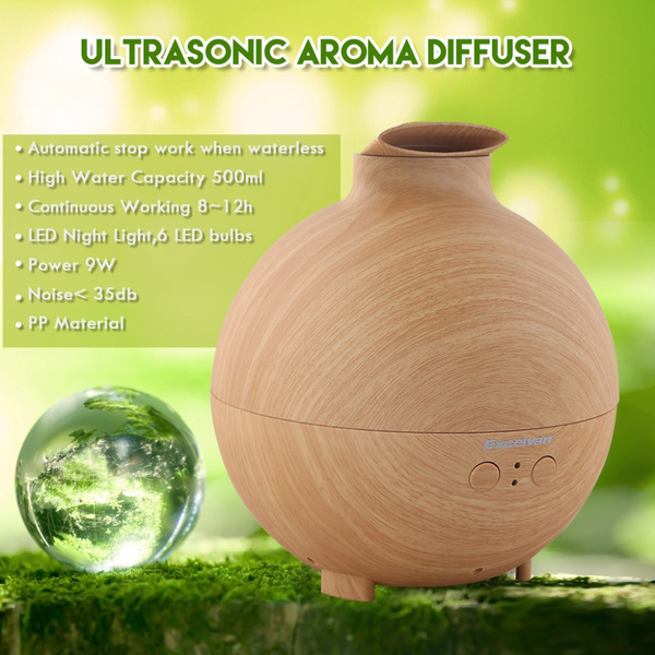 LED Ultrasonic Aroma Air Humidifier Mist Maker Diffuser Aromatherapy Purifier US