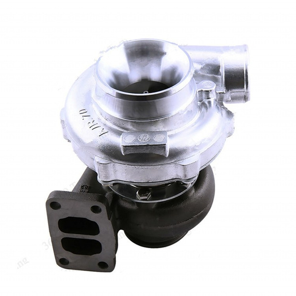GOWE turbocharger for Universal T70 Turbo  82 A/R T3 Flange Oil  turbocharger Turbolader 550HP for 1 8L-3 0L Engine V-band Two Scroll Flange  Oil Cool