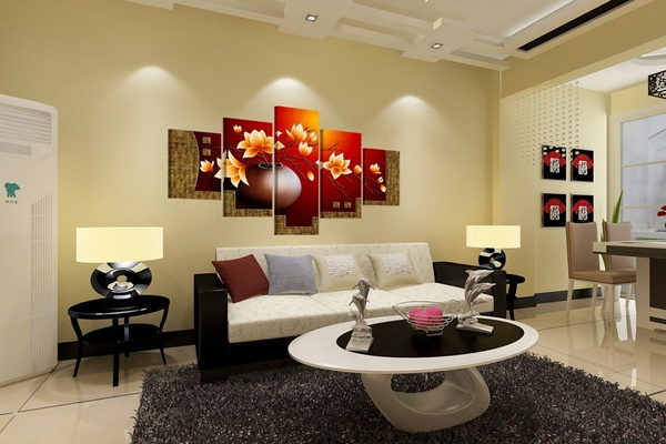 Wish Fashion Wall Poster Pictures For Living Room Paintings Cuadros Decorativos 5 Piece Magnolia Flower Vase Canvas Print Oil Painting Unframed