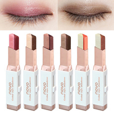 Eye Makeup Double Color Gradient Eye Shadow Matte Velvet Pearl Eyeshadow Pencil 6 Colors Available