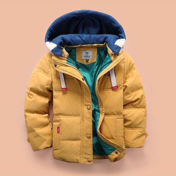 hooded, Winter, Coat, Cap