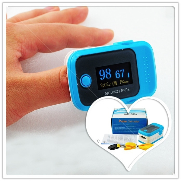 Beep mode!! OLED 5 color Finger Pulse Oximeter, Blood Oxygen, PR, SPO2  monitor CES80B