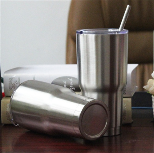 Drinking Straws for 30oz Yeti Rambler Tumbler Cups with Straw Brush Stainless Steel