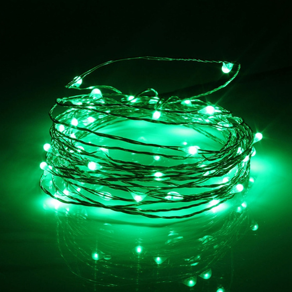 USB LED Copper Wire String Fairy Light Strip Lamp Xmas Party Waterproof 5M 50 LED Seasonal Décor
